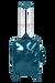 Lipault Plume Vinyle Valise 4 roues 55cm Bleu Canard