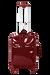 Lipault Plume Vinyle Valise 4 roues 55cm Rouge