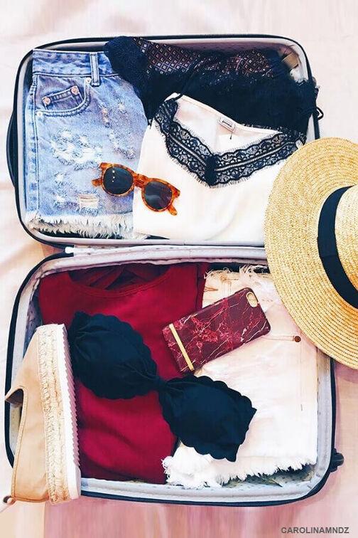 Comment faire votre valise