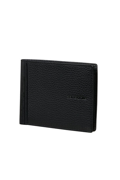 Double Leather Slg Portefeuille
