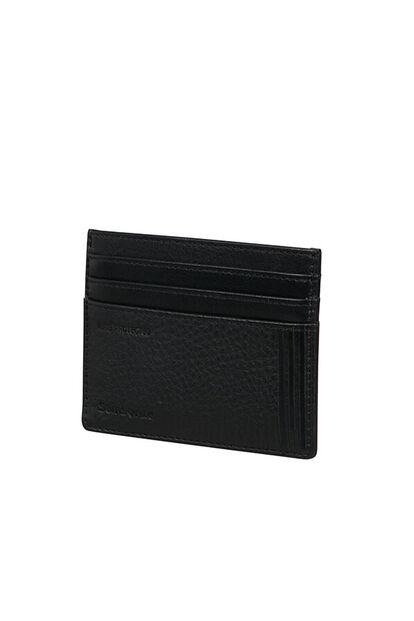 Double Leather Slg Porte-cartes de crédit