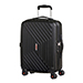 American Tourister Air Force 1 Valise 4 roues 55cm Noir Galaxy