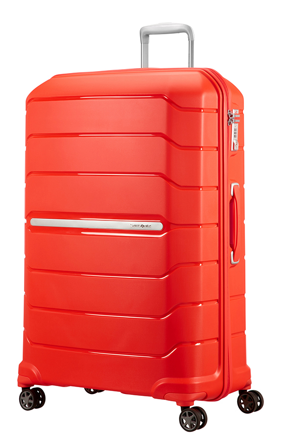 Valise rigide Samsonite Flux 81 cm Tangerine Red orange rT4Jwl